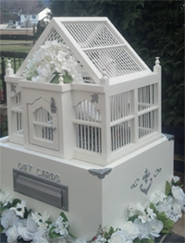 gift box with dove display